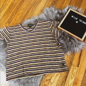 Calvin Klein retro 90s t shirt trendy y2k striped